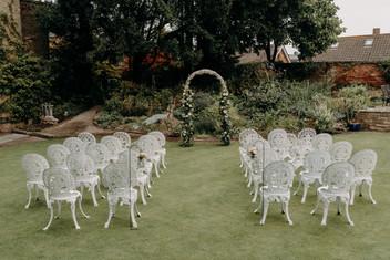 Garden Ceremony Chair Hire