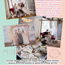 PROM BACKDROP & PHOTOSHOOT PACKAGE