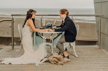 Unconventional Wedding Tempest Beach Elopement
