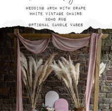 PACKAGE INSPO Whimsical Vintage Ceremony