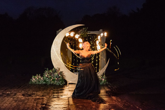 Unconventional Wedding Celestial Gothic Wedding Inspiration ELVASTON CASTLE