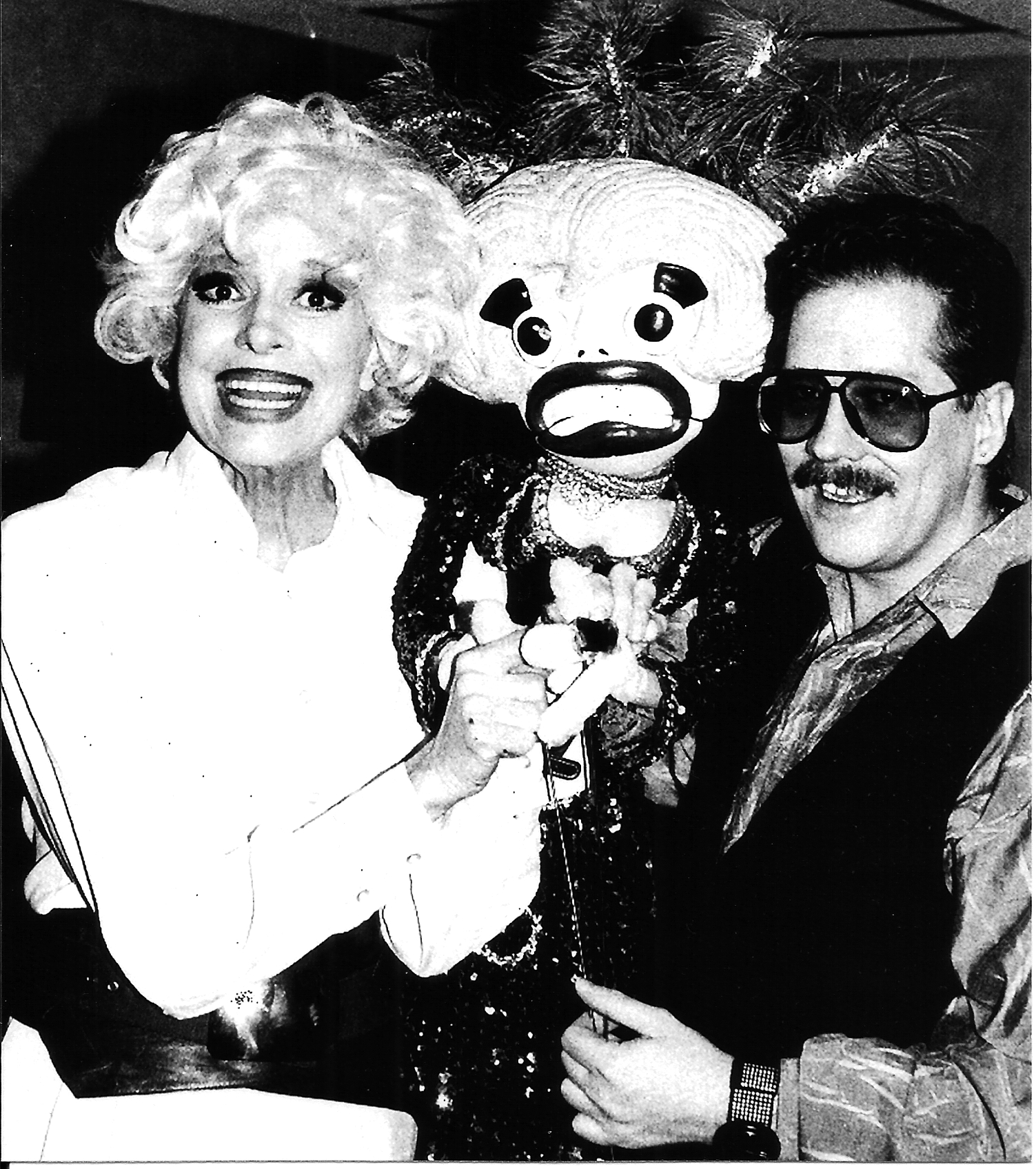 Carol Channing Jerry and Carol puppet