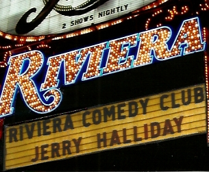 Riviera Sign with Jerry's name