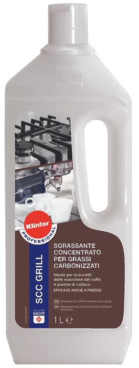 Sgrassante concentrato per grassi carbonizzati Klinfor SCG GRILL 1l