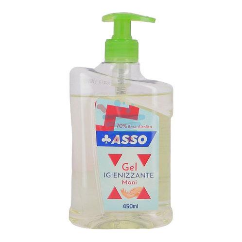 ASSO Igienizzante mani 450 ml - con 70% di ALCOOL