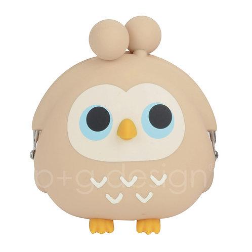 POCHI FRIENDS OWL Beige