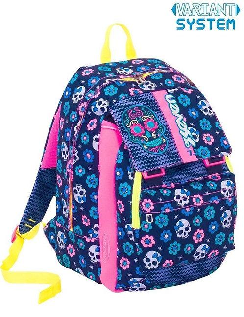 Zaino Seven Sdoppiabile Mexi Girl Blu