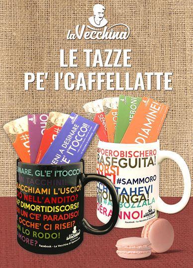 TAZZE PE' I'CAFFELLATTE - LA VECCHINA DI SAMMORO