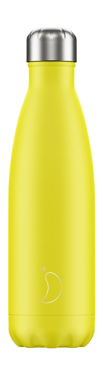 CHILLY'S BOTTLE Neon Yellow 500 ml
