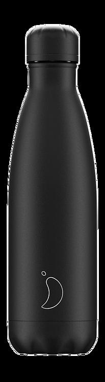CHILLY'S BOTTLE Monochrome All Black 500 ml