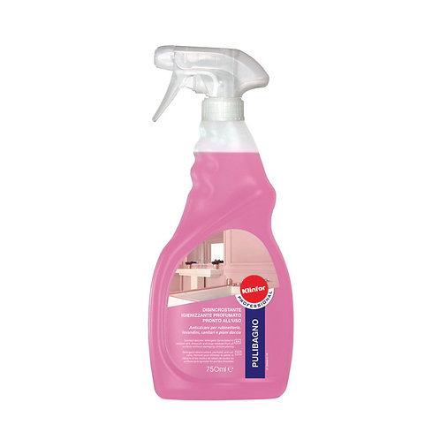 Anticalcare igienizzante pronto all'uso KLINFOR Professional PULIBAGNO 750ml.