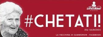 #CHETATI! (Fai silenzio!)