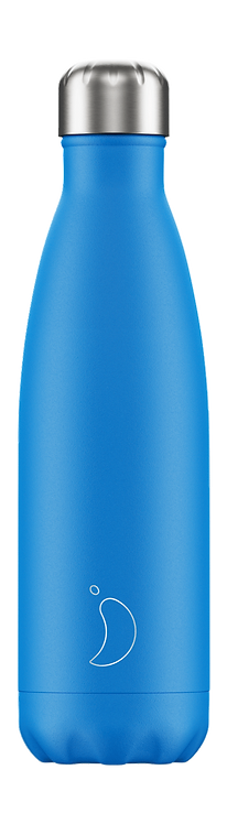CHILLY'S BOTTLE Neon Blue 500 ml