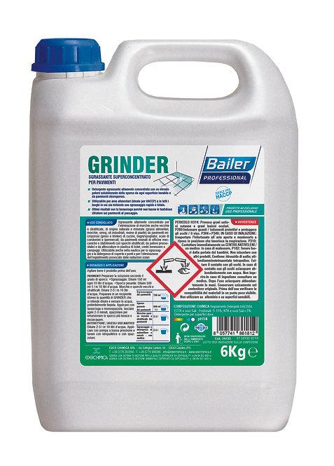 Sgrassante superconcentrato per pavimenti BAILER Professional GRINDER 6Kg