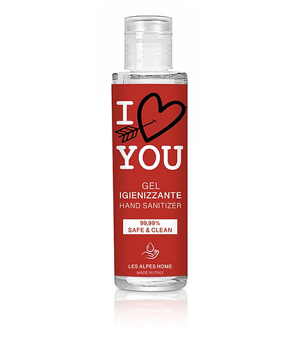 Gel igienizzante I LOVE YOU 100ml