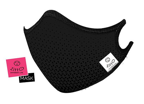 Sporty Black - Zitto Mask