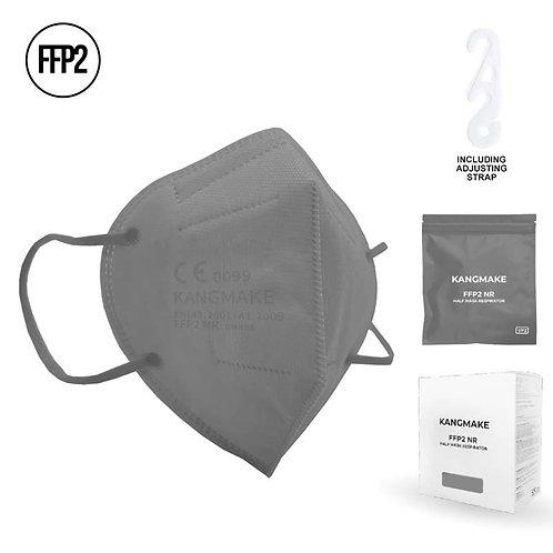 Mascherina FFP2 GRIGIO con custodia richiudibile