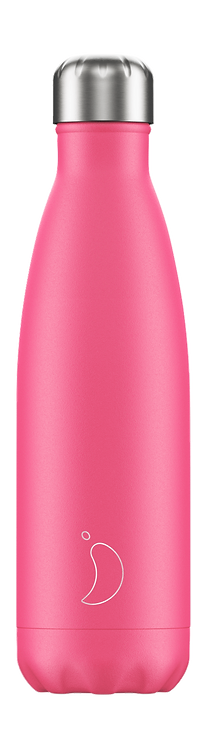 CHILLY'S BOTTLE Neon Pink 500 ml