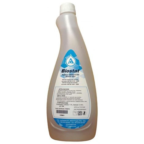 Pulitore battericida BIOSTAT 750 ml.