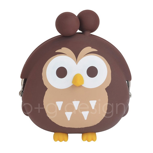 POCHI FRIENDS OWL Brown