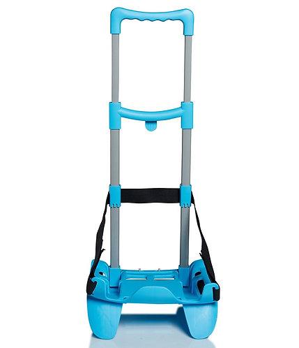 BE BOX TROLLEY TOP Azzurro carrello portazaino- vista davanti