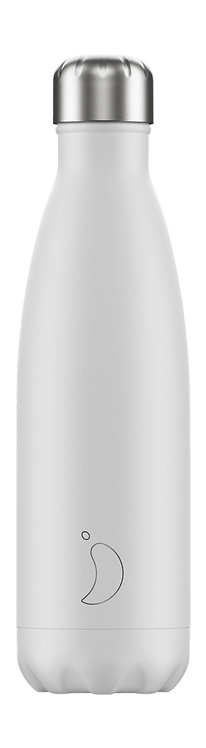 CHILLY'S BOTTLE Monochrome White 500 ml