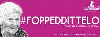 #FOPPEDDITTELO (giusto per ribadire il concetto)