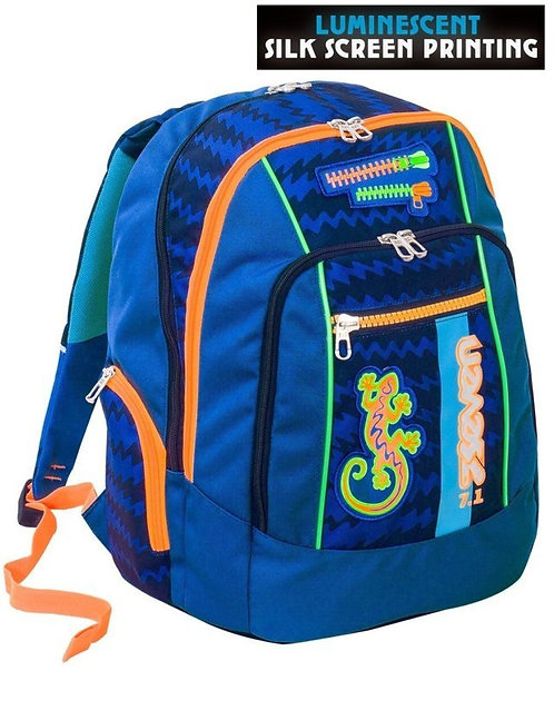 Zaino Seven New Advance Gecko Boy Blu