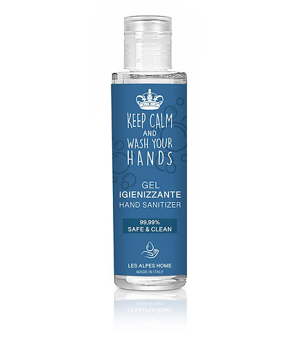 Gel igienizzante KEEP KALM & WASH YOUR HANDS 100ml