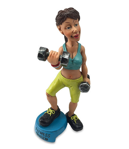 FITNESS QUEEN cm.17 - LES ALPES Funny collection mestieri