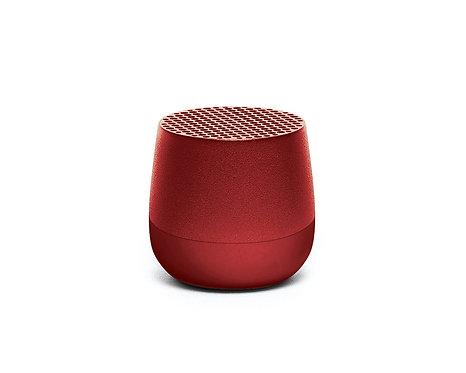 Lexon Mino Rosso Mini Speaker Bluetooth Ricaricabile