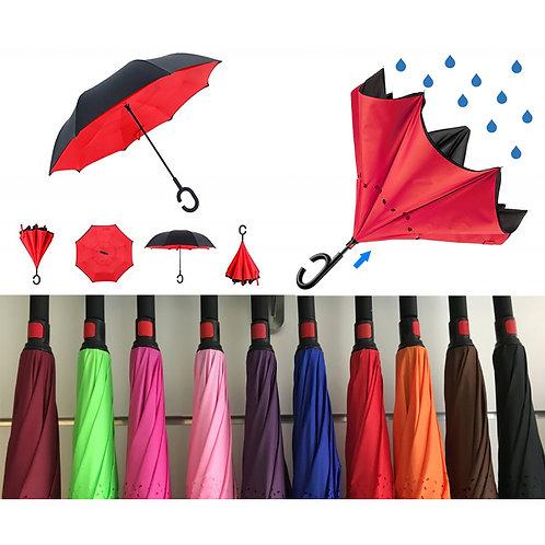 Ombrelli apertura inversa DOPPIO COLORE
