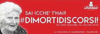 Sai icchè t'hai? #DIMORTIDISCORSI (fai tante chiacchiere ma concludi poco!)