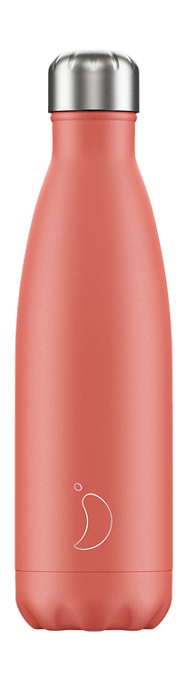 CHILLY'S BOTTLE Pastel Coral 500 ml