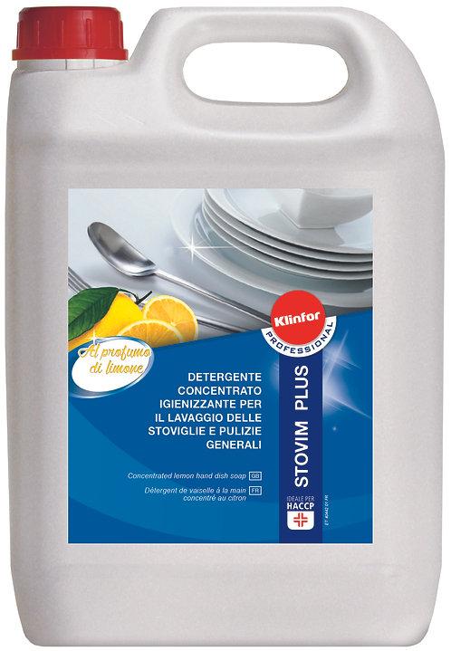 Detergente igienizzante lavaggio stoviglie KLINFOR Professional STOVIM PLUS 5l