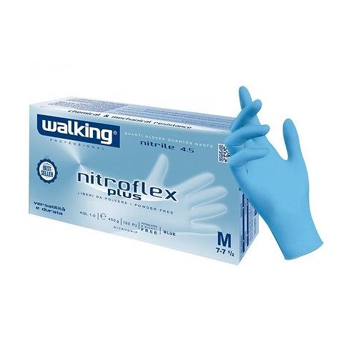 Guanti monouso WALKING NITROFLEX PLUS