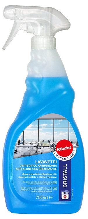 Lavavetri antistatico anti impronta KLINFOR Professional CRISTAL 750 ml.
