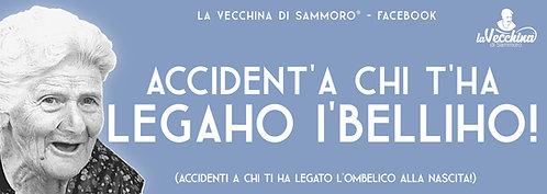 #ACCIDENT'A CHI T'HA LEGAHO I'BELLICO