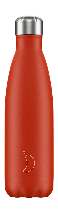 CHILLY'S BOTTLE Neon Red 500 ml