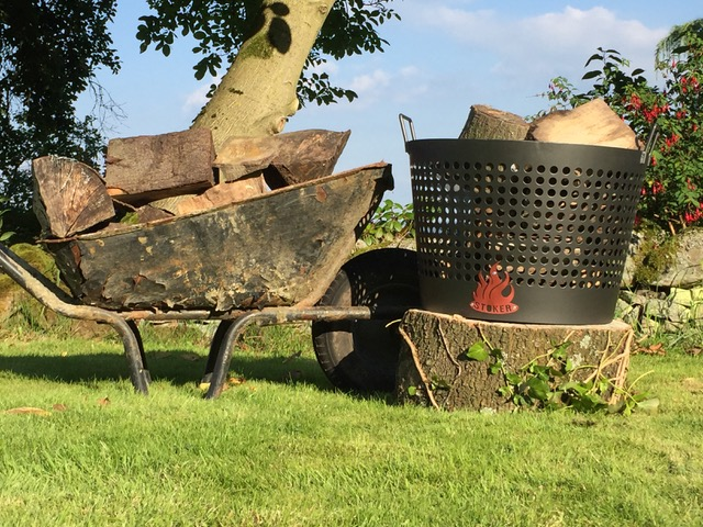 STOKER Bespoke Log Baskets and logs