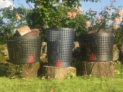STOKER Bespoke Log Basket any colour