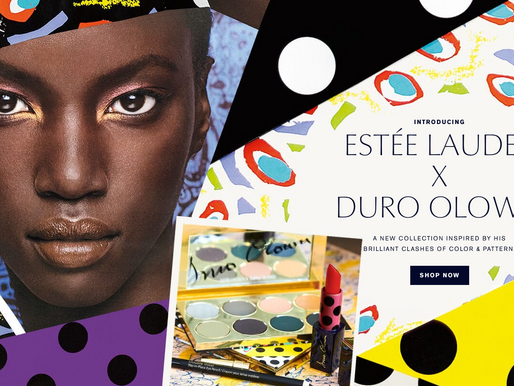 First Look at British-Nigerian designer, Duro Olowu's makeup collection with Estée Lauder