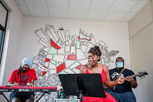 Group Lessons with Just Rock & Howard University's Music Therapy Program