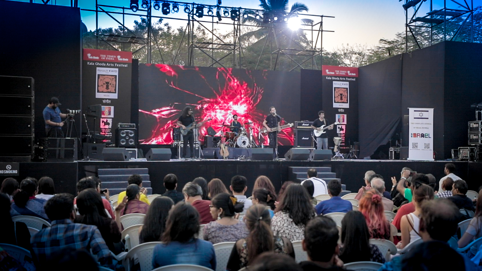 Nir Koren at Kala Ghoda 2019