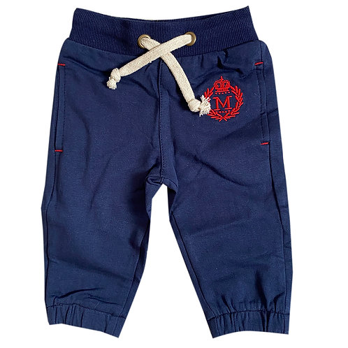Moejoe Baby Boy Simple Jogger with Rubber Waist