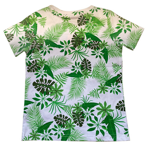 Moejoe Boy T-Shirt with Leaf Printed