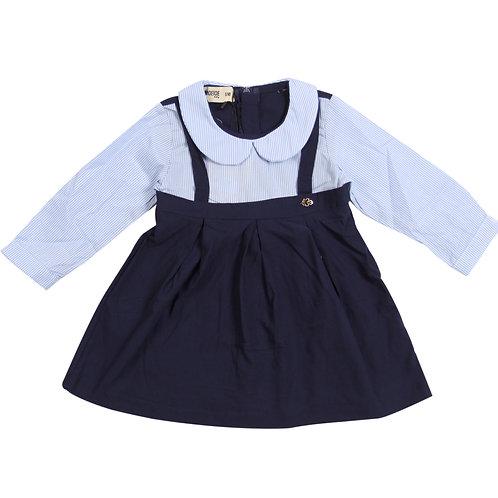 Moejoe Baby Girl Vertical Stripes Dress