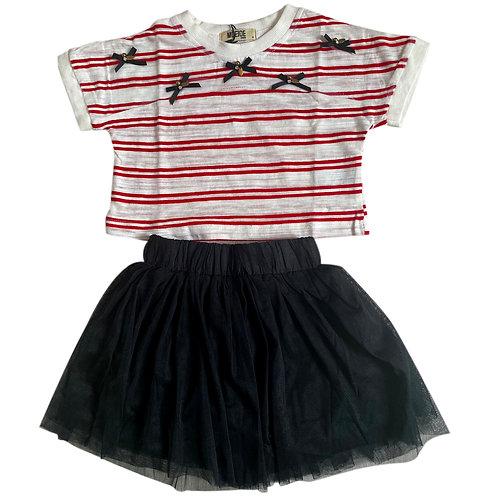Moejoe Girl Fania Stripes Set