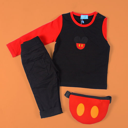 Mickey Mouse Long Sleeves Tee