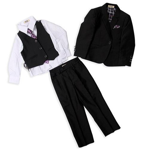 MOEJOE Simple Black Suit